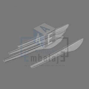 cuchillos de plastico descartables