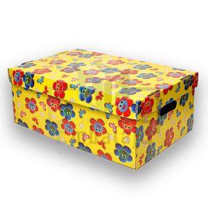 caja plastificada grande con tapa
