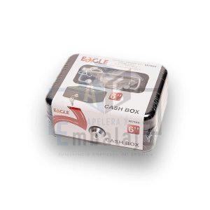 cofre guarda valores cash box 6""