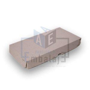 caja para media pizza cartón