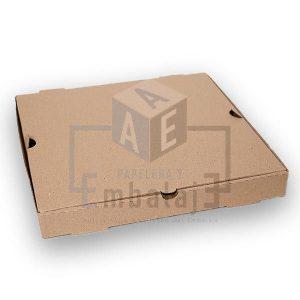 caja para pizza microcorrugado chica