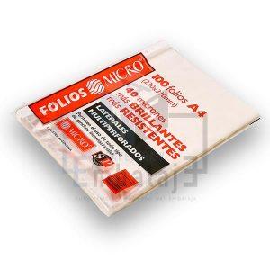 folios micro A4