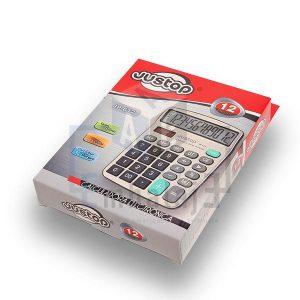 calculadora 12 dígitos justop jp612