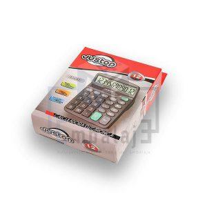 calculadora de 12 dígitos justop JP837