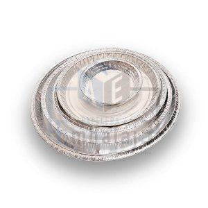 platos de aluminio descartables
