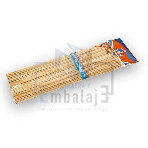 palitos de madera para brochette