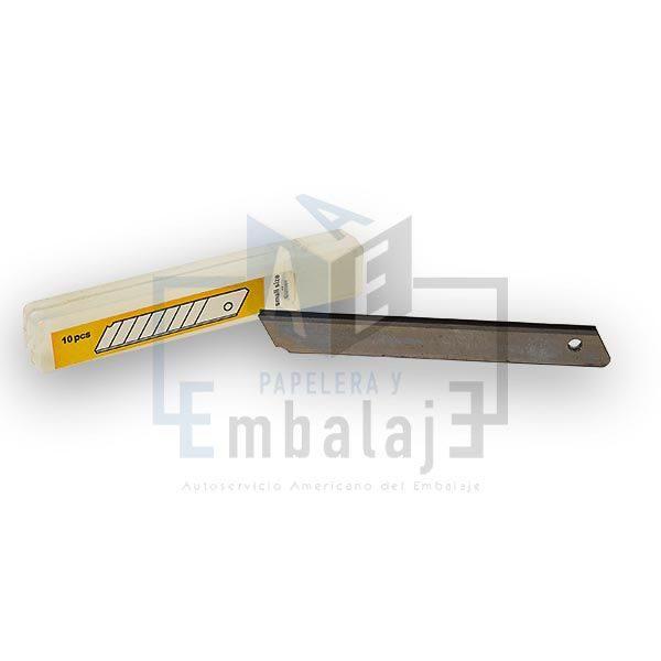 repuesto para cutter cortante trincheta chico 9mm