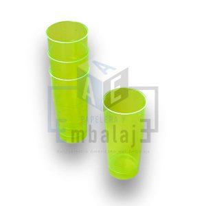 vaso plastico trago largo descartable