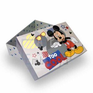 caja de cartulina disney