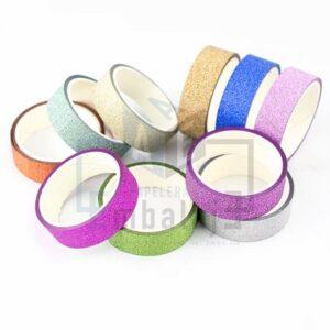 washi tape cinta glitter