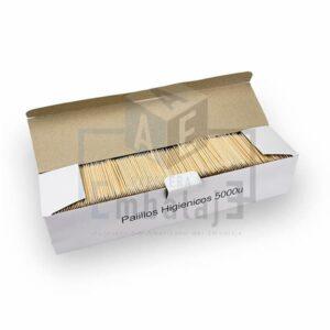 palillos escarbadientes de madera x5000
