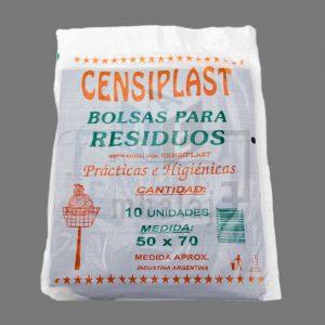 bolsas de residuos 50x70