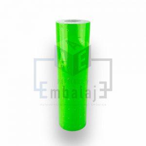 rollo etiquetas motex verde