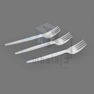 Tenedores de plastico descartables