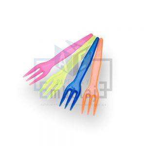 tenedor plastico copetin
