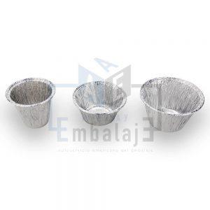 moldes vasos de aluminio para flan