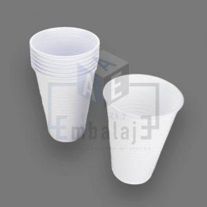 vasos de plastico descartables blancos bella cup