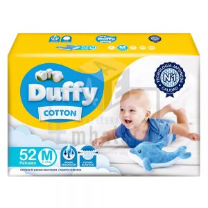 pañales Duffy para bebé medianos